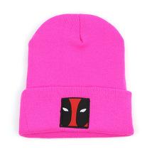 Deadpool Winter Hat Knitted Caps Pink Colour for Men Women - $26.99