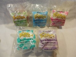 Flintstones 1993 McDonald's Happy Meal Toys Flintstone Buildings and Fig... - $19.95