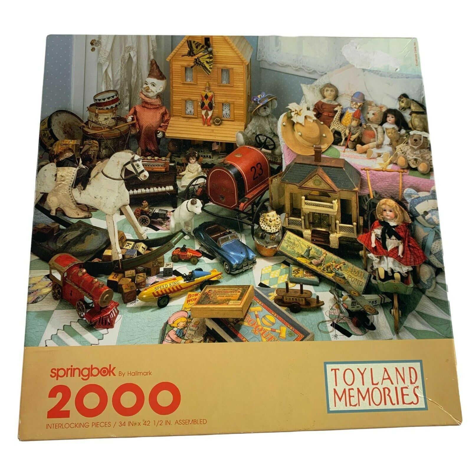 OLD TIME HOLIDAY 1000 PIECE JIGSAW PUZZLE by SPRINGBOK ~ NEW /& SEALED