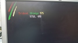 Trident 3dImaging 975 T9750 4mb PCI  VGA Trident 975 for industrial pc - $197.00