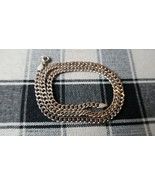 """Vintage Sterling Silver 18"""" x 5mm Curb Chain Necklace 17.45g - $68.31"""