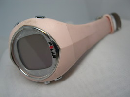 "L19, POLAR F6, Ladies Fitness Watch, Multi funct, 8"" Pink Silicon Band - $12.83"