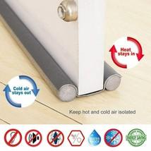 98cm Doorstop Under Door Draft Guard Flexible Sealing Strip Wind Dust Bl... - $8.04