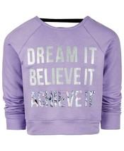 Ideology Toddler Girls Dream Graphic Strappy Back Sweatshirt Size 2T MSR... - $10.28