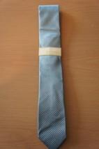 Michael Kors Men's Tie Blue Lofty Unsolid Solid 100% Silk Classic Necktie - £28.51 GBP