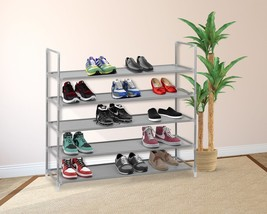 Free Standing 5 Tier Shoes Rack Organizer 15 Pa... - $32.87