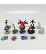 Disney Infinity 2.0 Figures, Crystal & Power Disc- Stitch Tinker Bell Sp... - $28.04