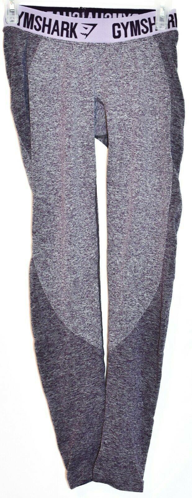 Gymshark Women's Purple Marl Flex Low Rise Body Contouring Leggings Size S
