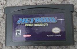 Metroid: Zero Mission English Custom Game Boy Advance GBA - $11.50