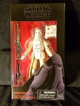 "SNOWTROOPER #35 Star Wars 6"" Action Figure Black Series Empire Strikes Back - $27.98"