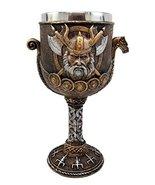 Atlantic Collectibles Norse Mythology Viking Odin Warlord Dragon Longshi... - $22.76