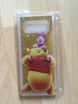 Winnie The Pooh Sparkle Liquid Glitter Quicksand Case For Galaxy Note 8 - $12.99
