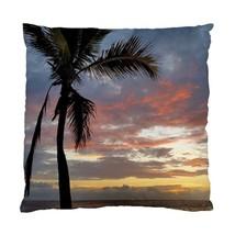 Pillow case Throw Pillow Cushion Cover Photo 12 Palm Tree ocean sea beach LDumas - $24.99+
