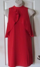 Apt. 9 Sleeveless Ruffle Aline Dress Raging Red Women's Sz XL NWT MSRP$50 - $27.60
