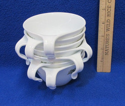7 Corning Corelle Ware Coffee Cups w/ Hook Handles Crazy Daisy Spring Bl... - $13.85