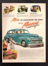 """1946  Ford Mercury  """" More of Everything You Want """" Vintage Print Ad - $9.49"""