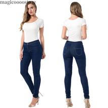 Womens Jeans Skinny Leggings Stretch High-Rise Pencil Leg Pants Slim Fit Sexy - $17.86+