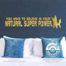 You have to believe in your natural super power - Bolt Disney Quote Viny... - $7.00+