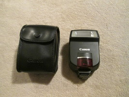 Cannon Speedlite 220ex Flash With Case - $55.00