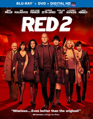 Red 2 Blu Ray/DVD W/Digital Ultraviolet (Eng/Eng Sub/Sp/Sp Sub/7.1Dts/2Disc