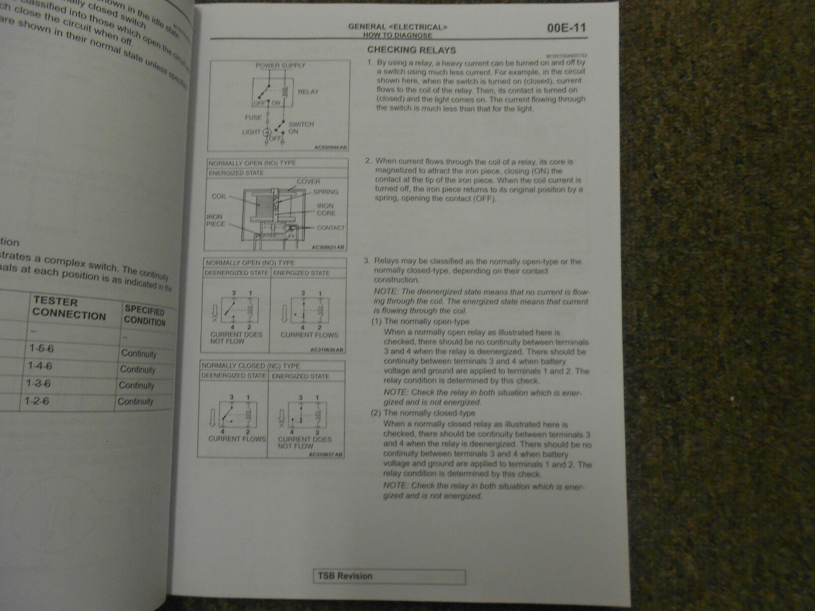 2010 MITSUBISHI Galant Electrical Supplement Service Repair Shop Manual OEM 10