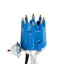Pro Series R2R Distributor for Ford SB Windsor 289/302W, V8 Engine Blue Cap image 2