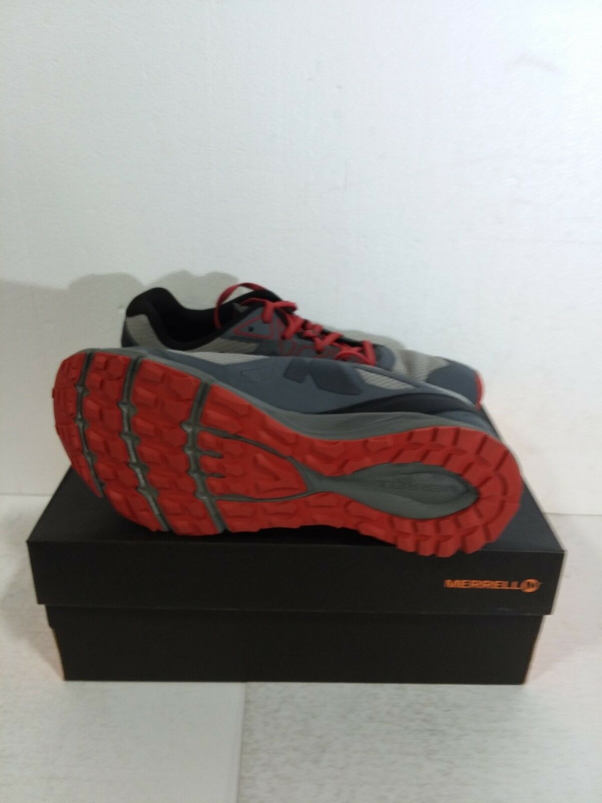 Merrell Mens Agility Fusion Flex Trail Shoes, Paloma, Mens Size 9.5 M