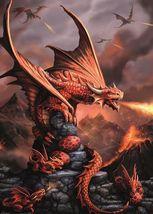 Dragons Red Fire   2.5 x 3.5 Fridge Magnet - $3.99
