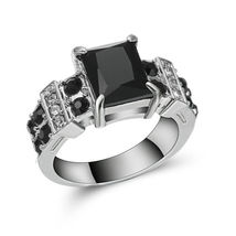 RING 8212, RHODIUM SIZE 6 >COMBINED SHIPPING< (8212)  - $4.75