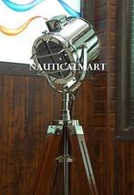 NauticalMart Classical Designer Chrome Finish Tripod Floor Lamp Searchlight - $199.00