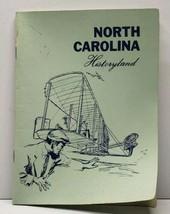 North Carolina Historyland Vintage Booklet - $8.95