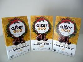 Alter Eco Organic Holiday Medley Truffles - THREE 10 packs - FREE SHIPPING - $24.50
