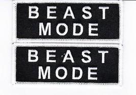 Beast Mode SEW/IRON On Patch Embroidered Chevrolet Corvette Camaro Chevelle Nova - $7.99