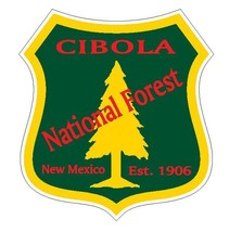 Cibola National Forest Sticker R3215 New Mexico You Choose Size - $1.45+