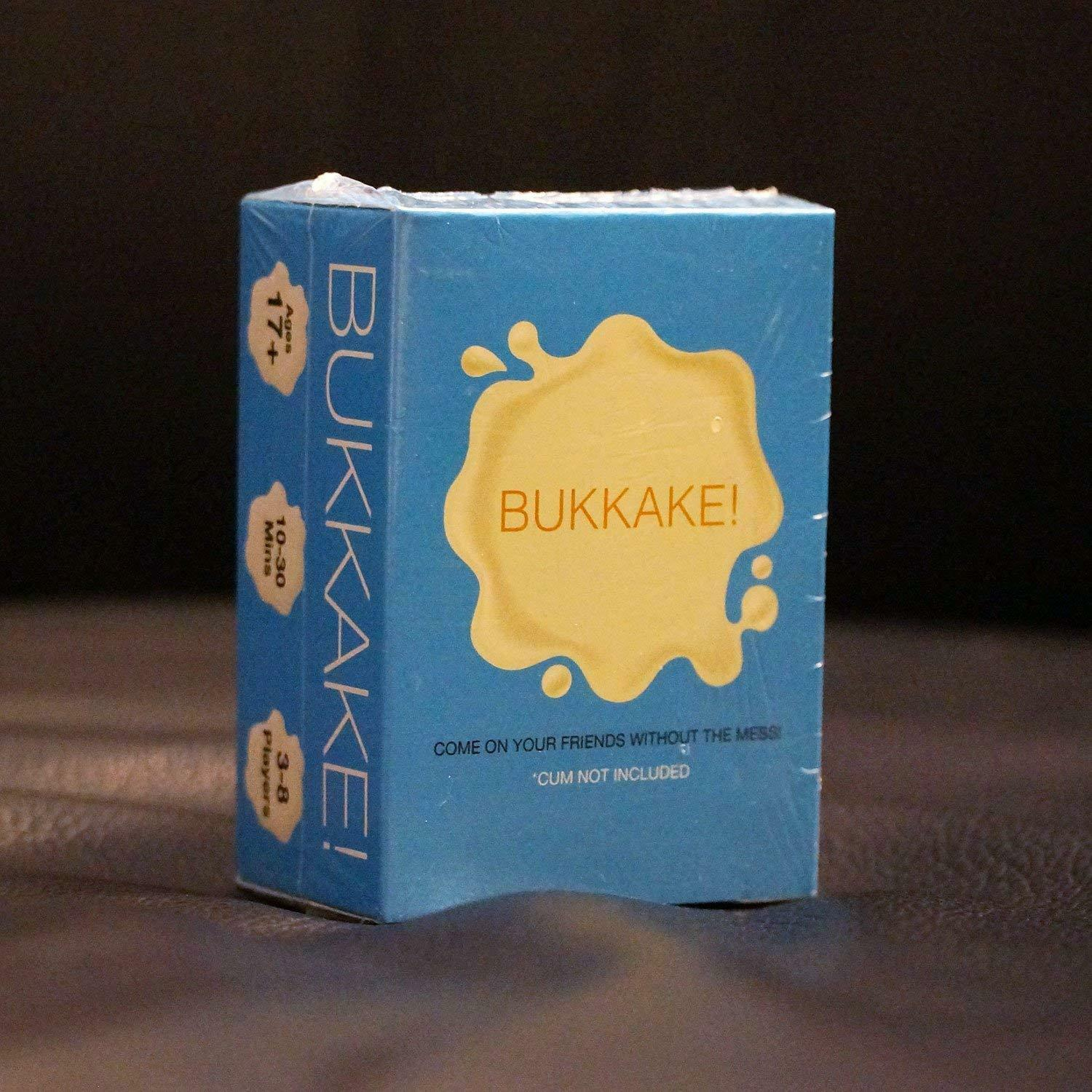 Bukkake! The Card Game ADULTS Only Party Game Sex Novelty