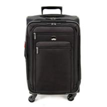 Delsey Luggage Helium Sky 2.0, Medium Checked, Spinner Suitcase, Black - $135.36