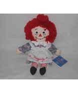 """So Sweet 12"""" Applause RAGGEDY ANN Cloth Doll With Tags - $38.56"""