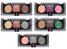MAYBELLINE* Eye Studio CREAM TRIO Eyeshadow DISCONTINUED Smooth *YOU CHO... - $4.99