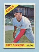 1966 Topps #491 Dennis Bennett VG-EX+ Red Sox *2449* - $3.99