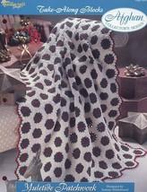 Yuletide Patchwork Afghan TNS Take Along Blocks NEW Crochet Pattern/Instructions - $1.77