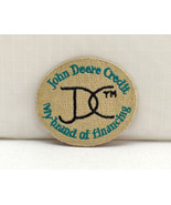 """John Deere Credit Embroidered Patch - JDC My Brand of Financing Oval 2"""" ... - $9.45"""