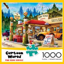 Buffalo Games - Cartoon World - Pine Road Service - 1000 Piece Jigsaw Pu... - $14.25