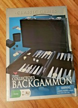 Backgammon Cardinal Collector's Classic Strategy Game Leatherette Case 2009 - $29.70