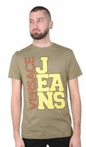 Versace Jeans Big Logo Cube Men's Graphic Tee NWT image 4