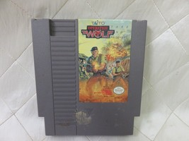 Operation Wolf (Nintendo Entertainment System, 1989) cart only - $6.28