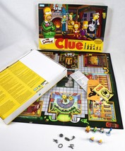 The Simpsons CLUE Board Game 2nd Edition Hasbro Classic Detective Game 2002 - $12.86