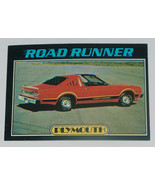1976 Topps Autos of 1977 Plymouth Road Runner Race Car Card #58 VG-EX Co... - $15.82