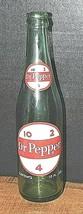 Vintage 1967 Dr Pepper Glass Soda Bottle - New York, N.Y. - $19.55