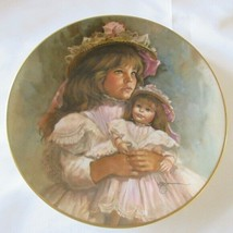 Vintage Gorham China RAMONA AND RACHEL Antique Doll Collectible Porcelain Plate - $12.00