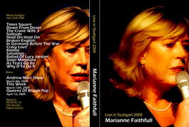 MARIANNE FAITHFULL - LIVE IN STUTTGART DVD - $23.50